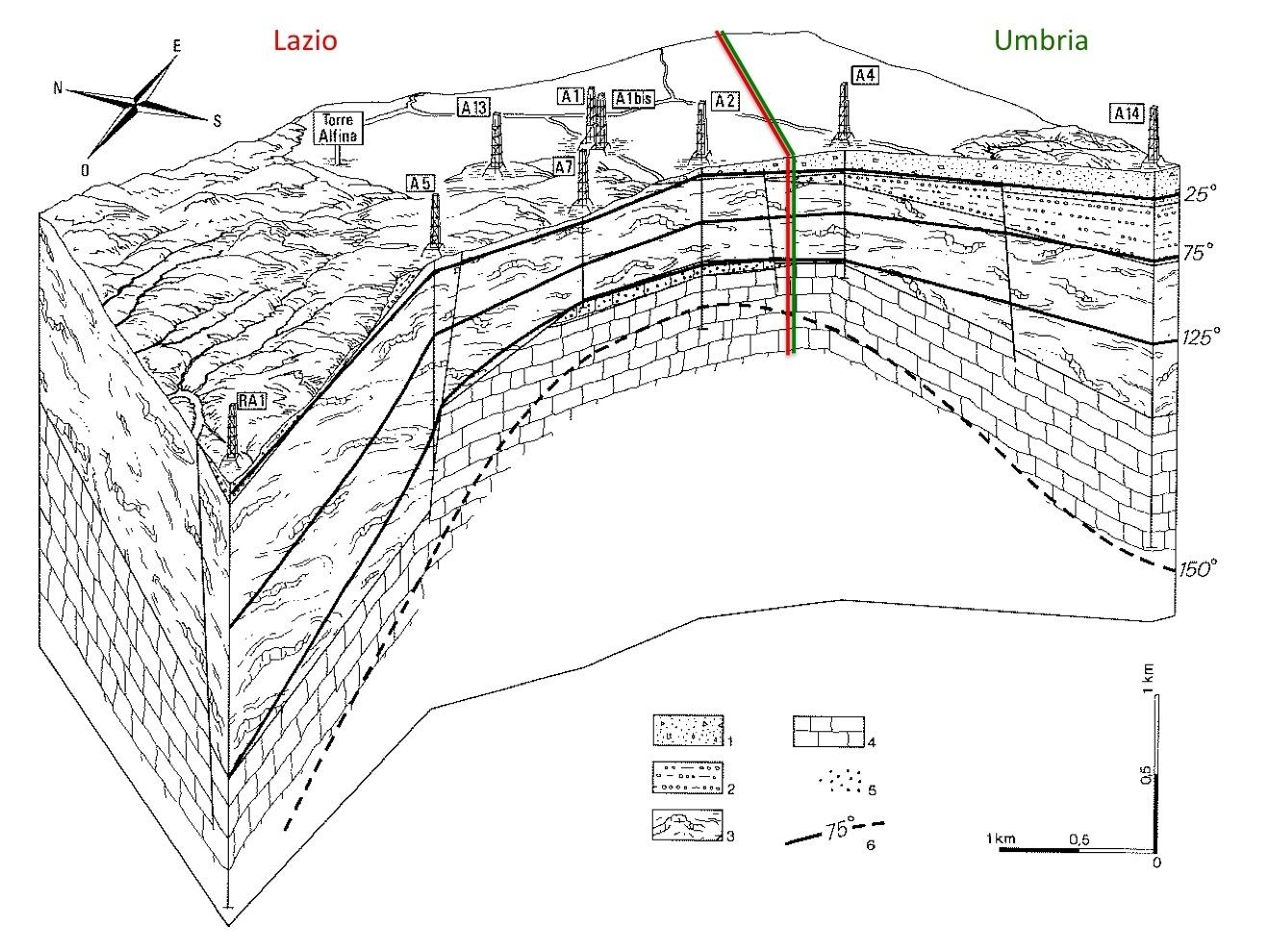 Contro gli impianti geotermici nella piana dell'Alfina