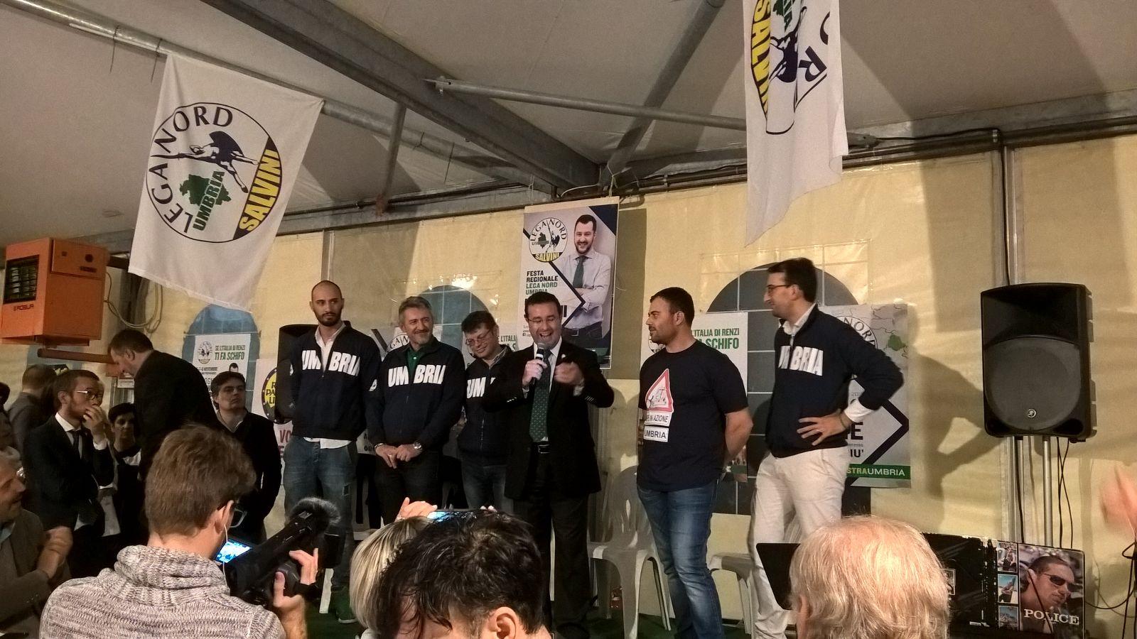 Successo per la prima festa della Lega Nord Umbria
