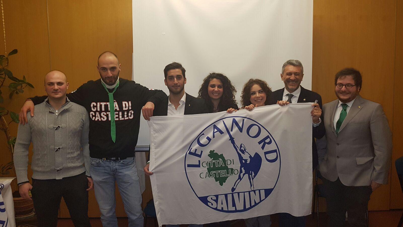 Nico Mazzoni nominato segretario cittadino – LEGA NORD Città di Castello