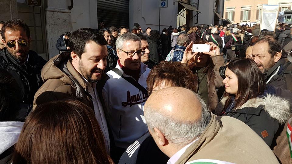 """TERREMOTO, MATTEO SALVINI: """"RICONOSCERE DANNO INDIRETTO"""""""