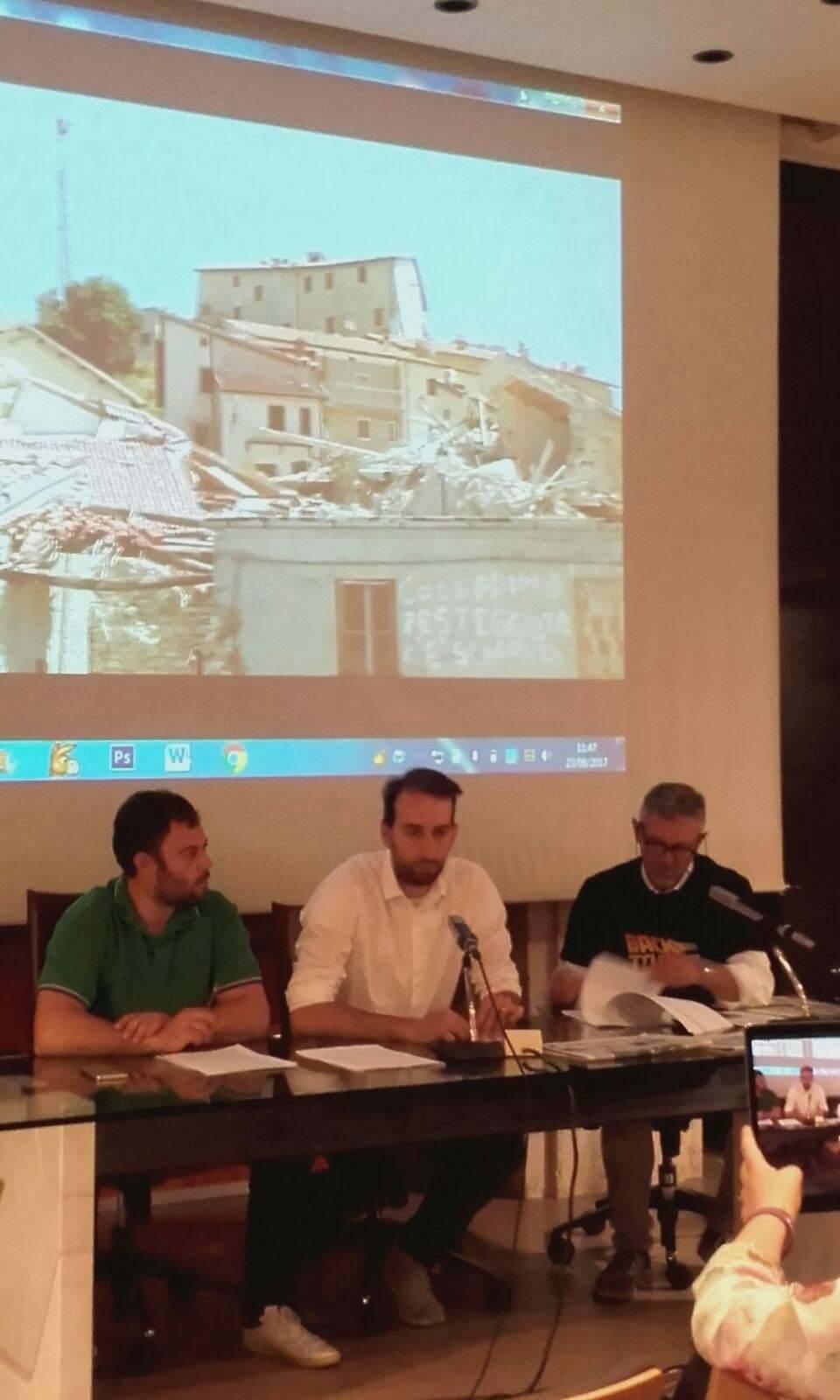 Ad un anno da terremoto, conferenza stampa Lega Nord Umbria. Gli interventi