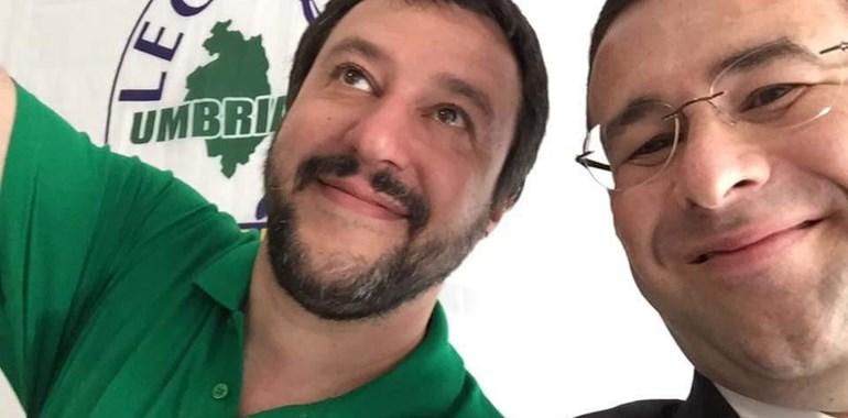 Matteo Salvini e Stefano Candiani intervengono su quanto accaduto nel comune di Umbertide