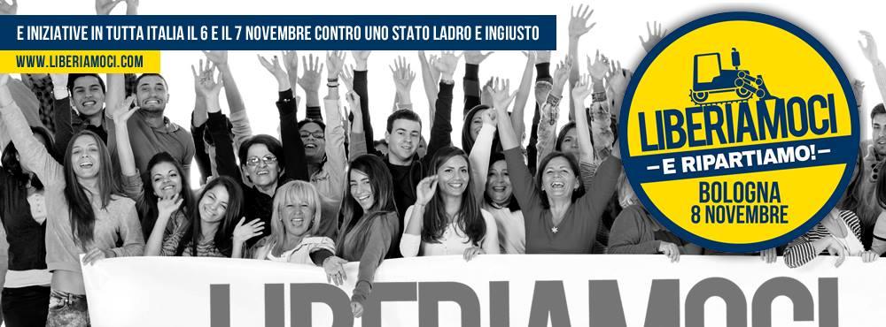 Anche Dall'Umbria, tutti a Bologna con Salvini