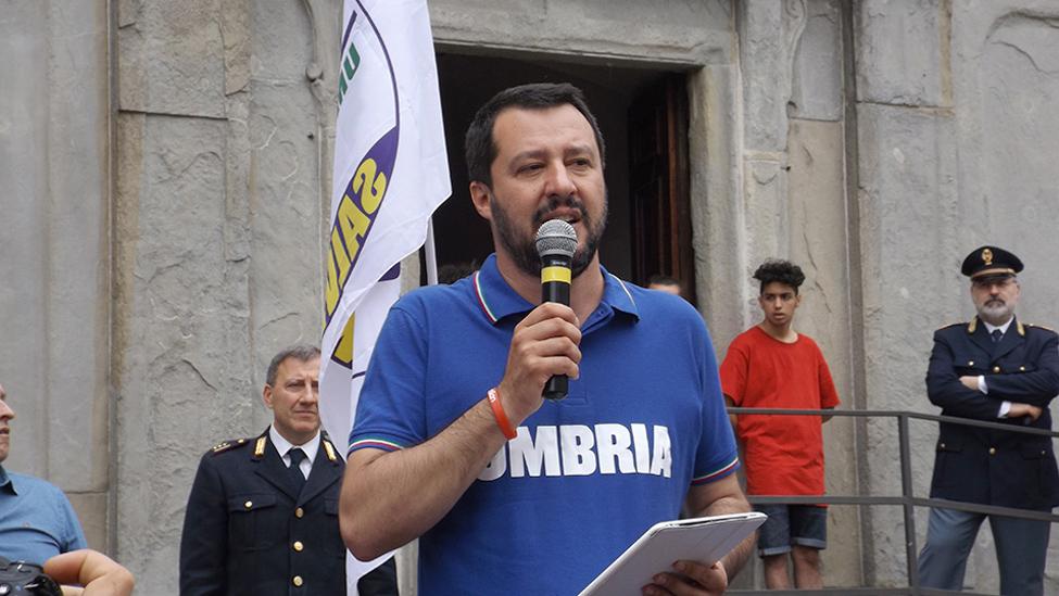 Matteo Salvini: in Umbria urge un serio piano rifiuti